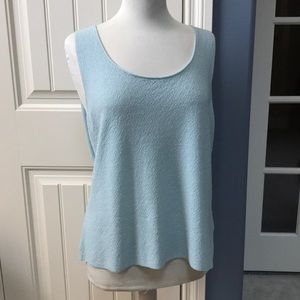 Eileen Fisher top. Gray-blue.  Size XL